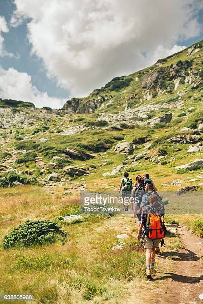 mountain hiking - single track stock pictures, royalty-free photos & images