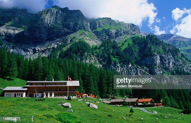 Mountain hotel near the Oeschinensee.