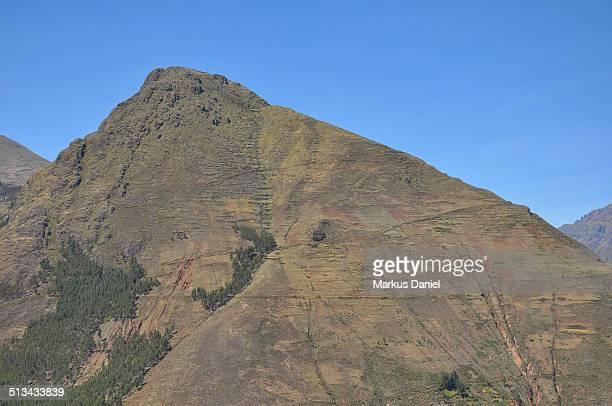 "mountain in sacred inca valley in pisac - ""markus daniel"" - fotografias e filmes do acervo"