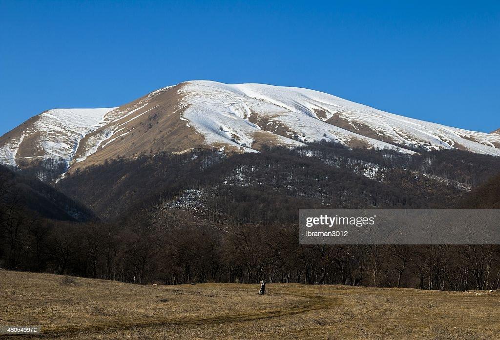 Montanha do Cáucaso. : Foto de stock
