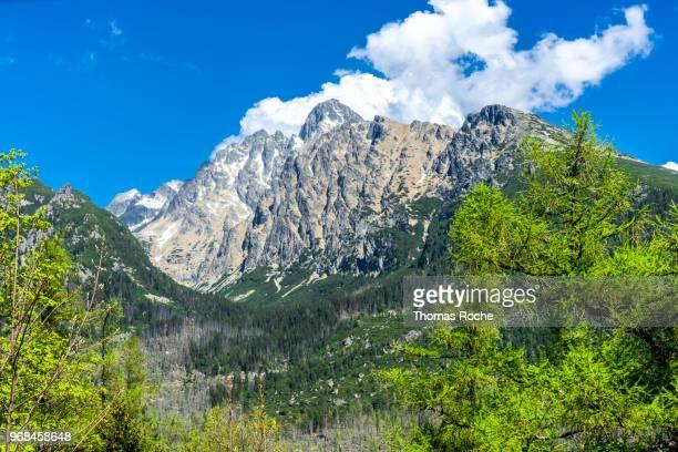 A mountain in the High Tatras