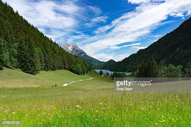 Mountain lake, Austria