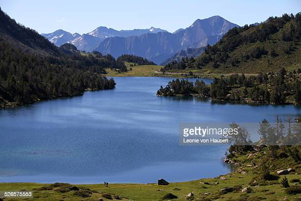 Mountain Lake in the French Pyrenees