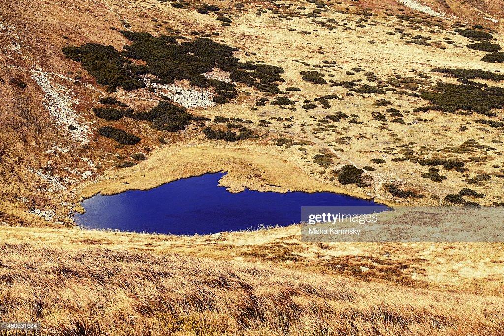Mountain lake : Stock Photo