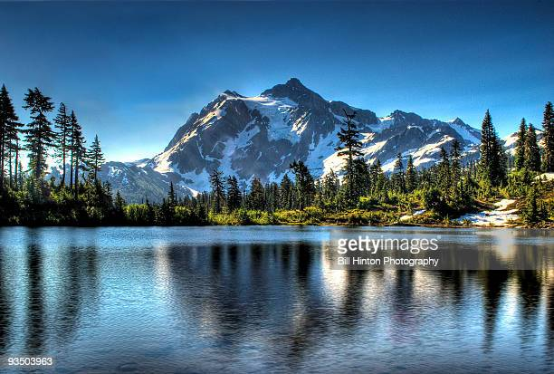 mountain lake - bellingham stock pictures, royalty-free photos & images