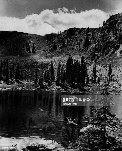 Mountain Lakes Horseshoe Lake flat drawer Horseshoe LakeBeautiful But Frustrating Timberline rainbow lake is in Arapaho National Forest Credit Denver...