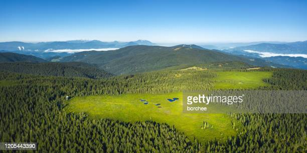 lacs de montagne - slovénie photos et images de collection