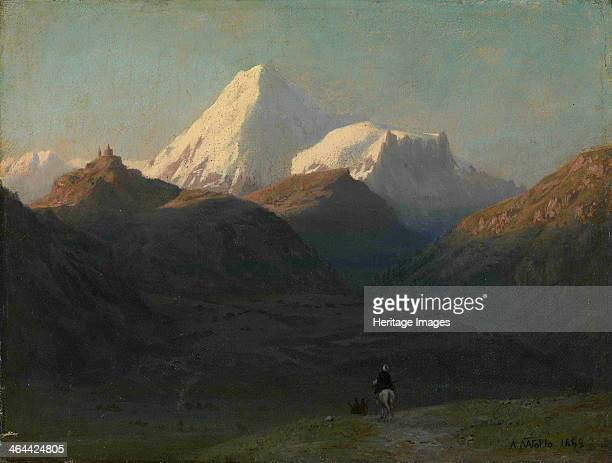 Mountain Landscape, 1868. From a private collection.