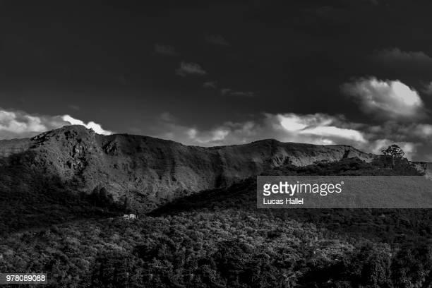mountain landscape, belo horizonte, minas gerais, brazil - belo horizonte stock pictures, royalty-free photos & images