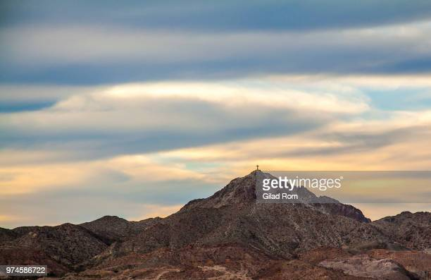 Mountain landscape, El Paso, Texas, USA