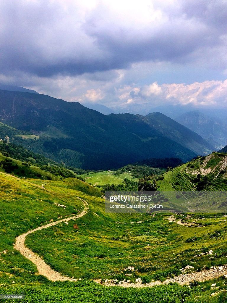 Mountain Landscape In Summer : Foto stock