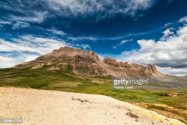 mountain landscape in the uncompahgre wilderness, colorado - ロッキー山脈 ストックフォトと画像