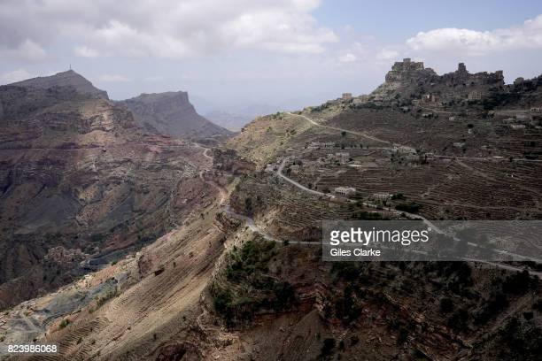 Mountain Landscape in Yemen