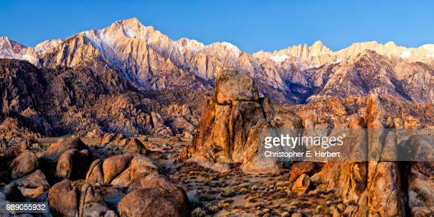 Mountain landscape, Lone Pine, Alabama Hills, California, USA