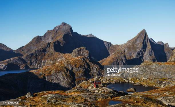 Mountain landscape, Moskenes, Nordland, Norway