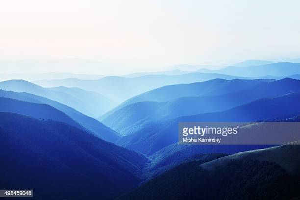 mountain landscape - tectonic stock photos and pictures