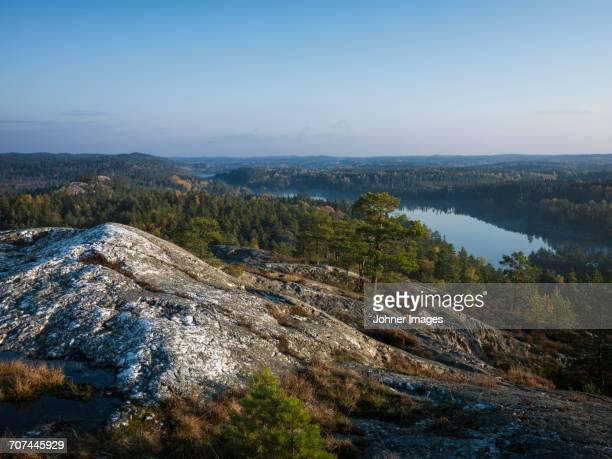 mountain landscape - dalsland - fotografias e filmes do acervo