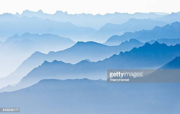 Mountain landscape, Saentis, Appenzell, Switzerland
