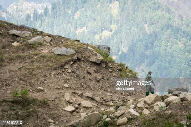 mountain life in kashmir - shaifulzamri imagens e fotografias de stock