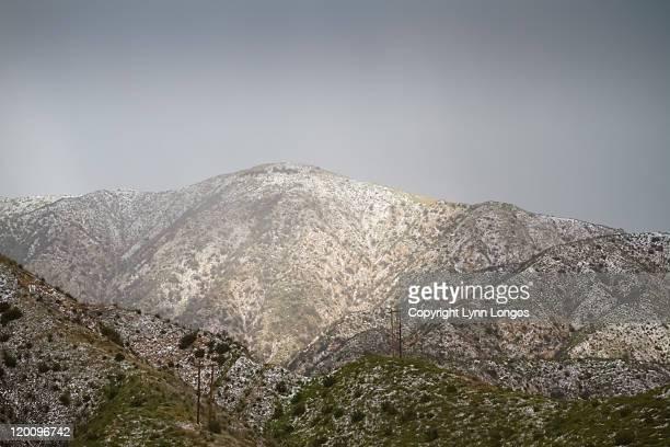 mountain mist - san gabriel mountains stock pictures, royalty-free photos & images