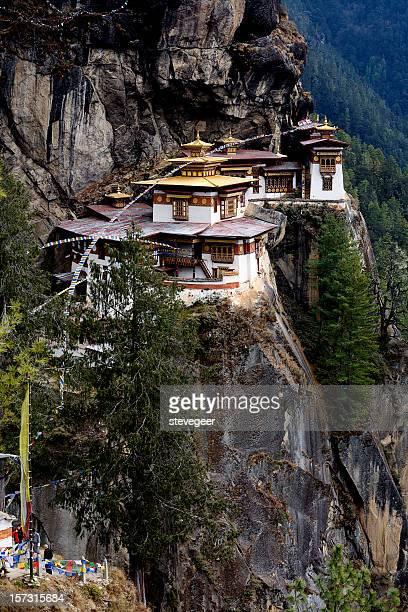 Mountain Monastery in Bhutan