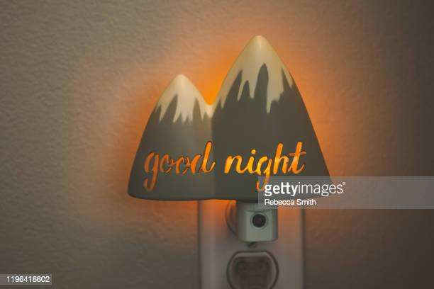 mountain night light - dolly fox stock pictures, royalty-free photos & images