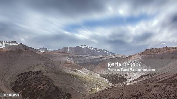 Mountain on the way from Jispa to Leh Ladakh
