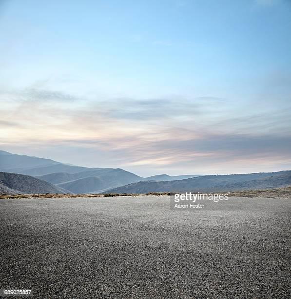 Mountain Parking Lot