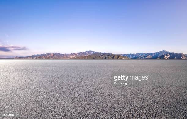 mountain parking lot - roadside stock pictures, royalty-free photos & images