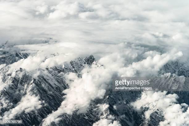 mountain peaks - k2 mountain stock pictures, royalty-free photos & images