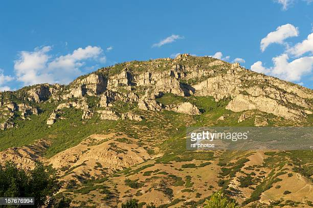 y mountain provo. utah - provo stock pictures, royalty-free photos & images