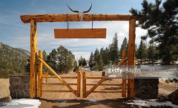 Mountain Ranch Sign