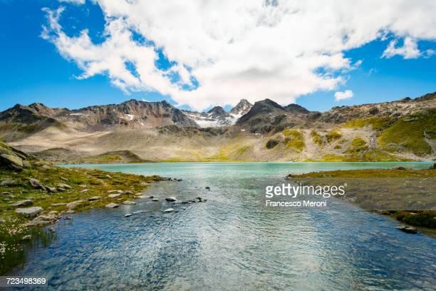 Mountain range, Davos, Graubnden, Switzerland