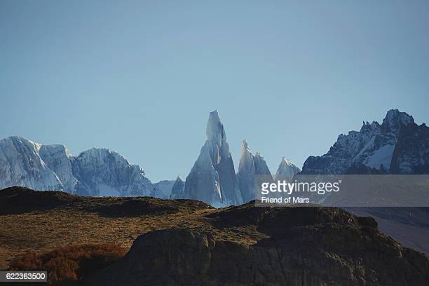 Mountain range Fitz Roy, El Chalten, Argentina