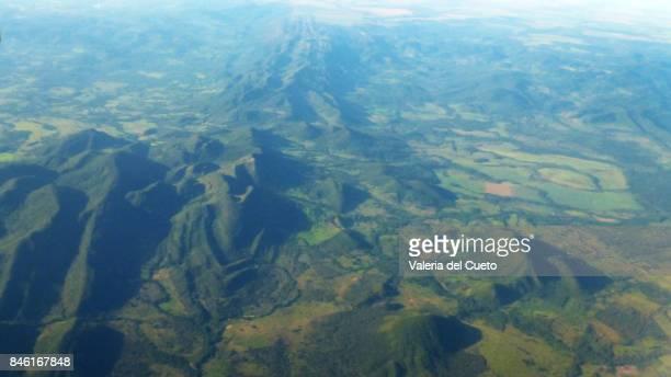 Mountain range in center west