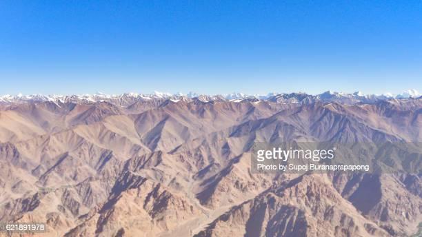 mountain range, leh ladakh, india - etnia indo asiatica foto e immagini stock