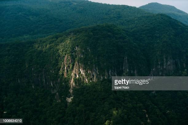 Mountain range of Nikko National Park, Tochigi, Japan