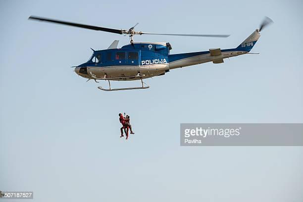 山今や、ヘリコプター、スロベニア