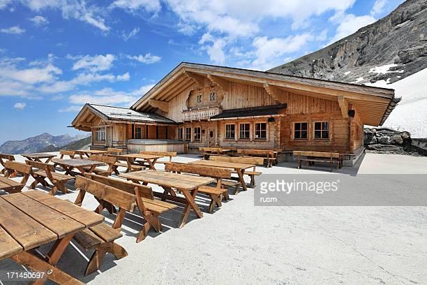 restaurant Berge, Schweizer Alpen