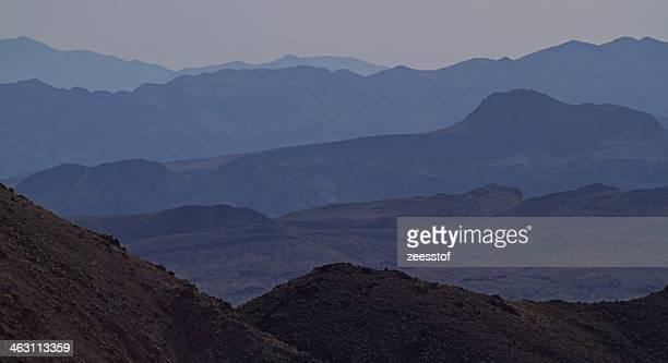 Mountain Ridges East of Dante's View