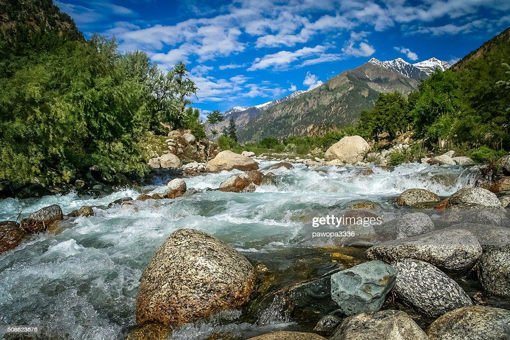 Mountain river : Stock Photo