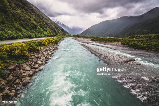 Mountain river, South Island, New Zealand