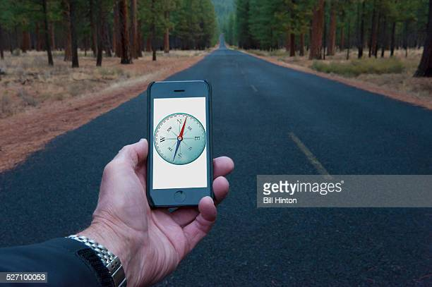 Mountain Road Compass POV