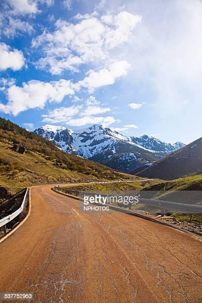 Mountain road in Asturias