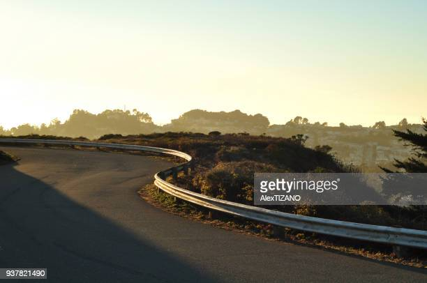 Mountain Road in San Francisco