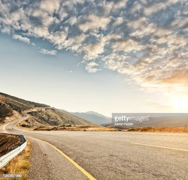 mountain road - nature stock pictures, royalty-free photos & images