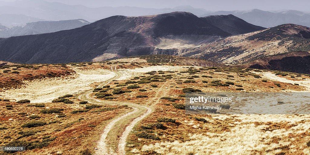 Mountain road : Stock Photo