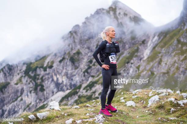 mountain running race - preparations - cross country running stock pictures, royalty-free photos & images