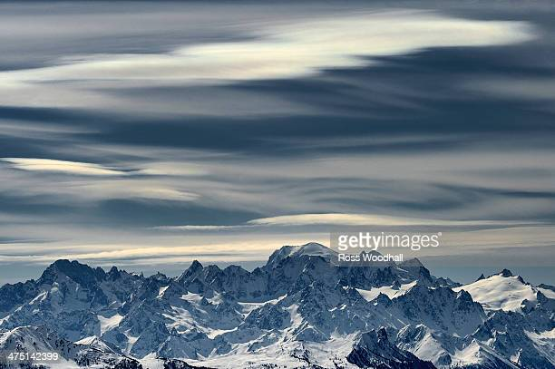 Mountain scene, Crans Montana, Switzerland