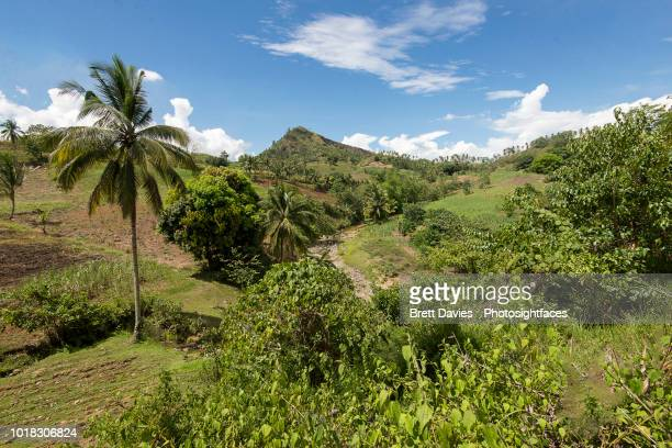 mountain scene - negros oriental stock pictures, royalty-free photos & images